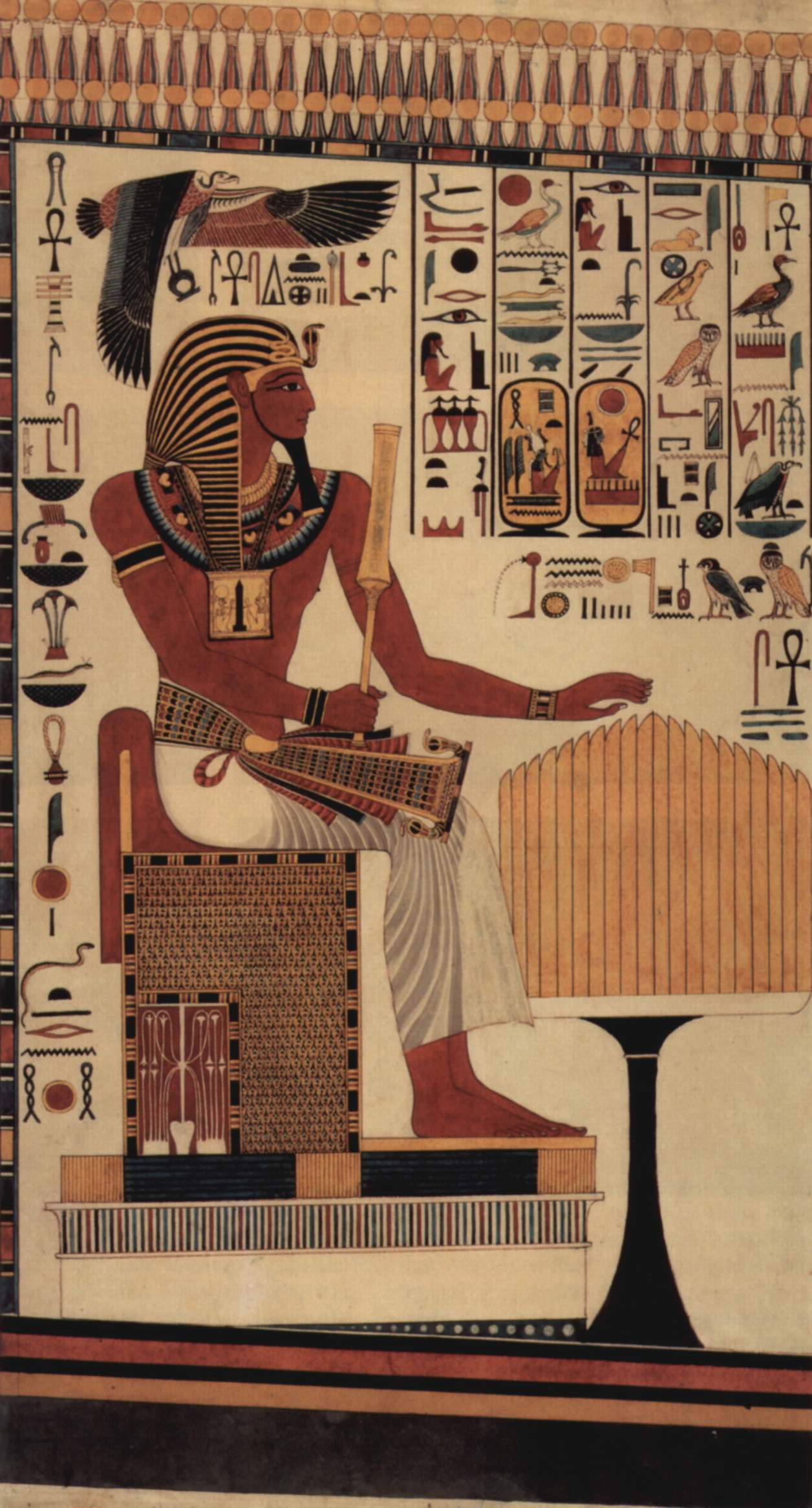 an analysis of the stamp of very old antiquity of pharaoh menkheperre To stamp out the new teaching by exorcism and history of egypt reaches back to hoary antiquity tian sources is very similar the death of the pharaoh in the.
